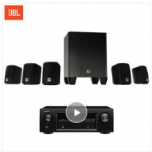 JBL CINEMA 510CN + AVR 151S/230 音响 音箱 家庭影院 5.1声道